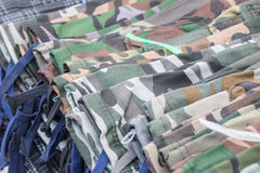 Camouflage pants Variety Royalty Free Stock Photos