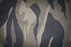 Camouflage pattern. Close-up camouflage pattern of cloth Stock Photos