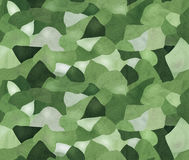 Camouflage seamless pattern. Military khaki camouflage seamless pattern array Stock Photos