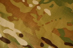 Camouflage pattern. US military multicam camouflage pattern Royalty Free Stock Photography