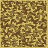 Camouflage Pattern 2 - Desert Stock Images