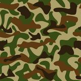 Camouflage pattern. Seamless camouflage pattern green and brown colors Royalty Free Stock Image