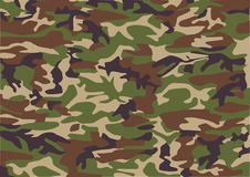 Camouflage pattern stock illustration