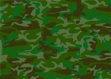 Camouflage pattern. Military khaki camouflage pattern on fabric. (vector Royalty Free Stock Images