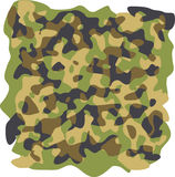 Camouflage pattern Royalty Free Stock Image