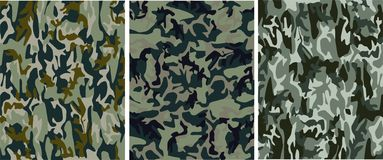 Camouflage pattern. Marshland military camouflage pattern (vector texture royalty free illustration