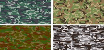 Camouflage pattern. A camouflage pattern that will tile seamlessly Stock Photo