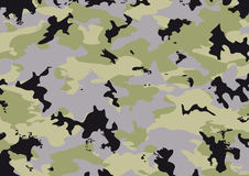 Camouflage pattern 5. Camouflage pattern in green, gray and black Royalty Free Stock Images