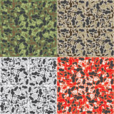 Camouflage pattern background Royalty Free Stock Photography