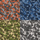 Camouflage pattern Royalty Free Stock Photo