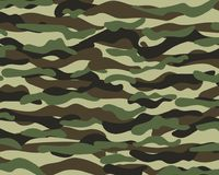 Camouflage pattern background. Classic clothing style masking camo print. Camouflage pattern background. Classic clothing style masking camo repeat print. Green Royalty Free Stock Image