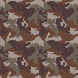 Camouflage pattern background seamless clothing print, repeatabl Royalty Free Stock Photography