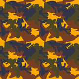 Camouflage pattern background seamless clothing print, repeatabl Royalty Free Stock Photo