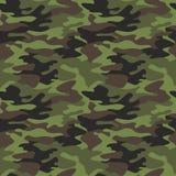 Camouflage pattern background seamless  illustration. Clas Stock Photos