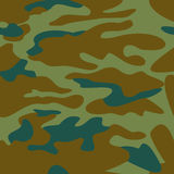 Camouflage pattern background seamless  illustration. Stock Photography