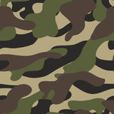 Camouflage pattern background seamless illustration. Military camouflage Stock Photos