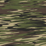 Camouflage pattern background seamless illustration. Military camouflage Stock Images