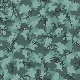 Camouflage pattern background seamless vector Stock Images
