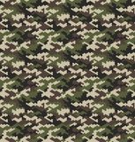 Camouflage pattern background seamless vector illustration. stock illustration