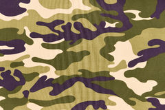 Camouflage pattern background or texture Stock Images