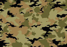 Camouflage pattern in brown tones Royalty Free Stock Photos