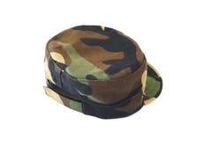 Camouflage pattern cap Stock Photo
