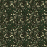 Camouflage pattern. Modern camouflage pattern. Seamless background tile for military clothing prints, vehicles and game design Royalty Free Stock Photography