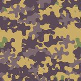 Camouflage pattern seamless background. Animal military camoufla. Ge. Abstract seamless pattern for army, hunting, fashion cloth textile. Colorful modern soldier vector illustration
