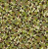 Camouflage pattern royalty free illustration