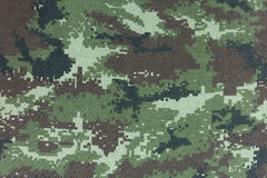 Camouflage pattern seamless for texture and background. Stock Image