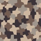 Camouflage pattern, seamless vector illustration. Classic military clothing style. Camo repeat print. Camouflage pattern background, seamless vector vector illustration