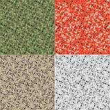 Camouflage pattern set background Stock Photography