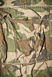 Camouflage pattern trousers Royalty Free Stock Photography