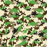 Camouflage pattern. Vector illustration of the Camouflage pattern Royalty Free Stock Images