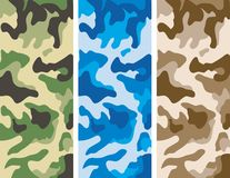 Camouflage Patterns Stock Image