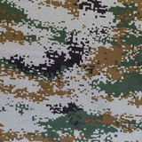 Camouflage. A piece of cloth with disruptive pattern Stock Photography