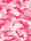 Camouflage rose Images libres de droits