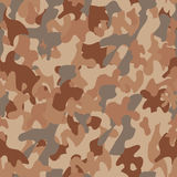 Camouflage seamless army pattern Stock Photos