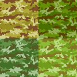 Camouflage seamless background Royalty Free Stock Photo