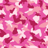 Camouflage seamless color pattern Stock Images