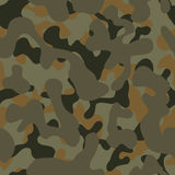 Camouflage. Seamless forest camouflage texture. Panels can be placed and stacked horizontally and vertically without a visible seam Stock Photo