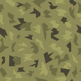 Camouflage seamless military pattern Vector Illustration