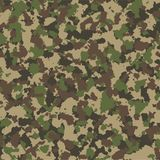 Camouflage seamless pattern. Vector background. stock photo