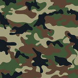 Camouflage Seamless Pattern. Royalty Free Stock Photos
