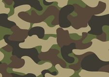 Free Camouflage Seamless Pattern. Abstract Military Or Hunting Camouflage Background. Classic Clothing Style Masking Camo Stock Photos - 175030503