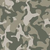 Camouflage seamless pattern. Abstract modern vector military backgound. royalty free illustration