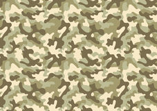 Camouflage seamless pattern. Camouflage background with a seamless design. Woodland style vector illustration Stock Photo