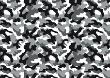 Camouflage seamless pattern. Camouflage background with a seamless design. Woodland style vector illustration Stock Photography
