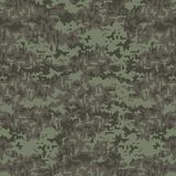 Camouflage seamless pattern background. Green Camouflage texture. Camouflage seamless pattern background. Green Camouflage texture background royalty free illustration