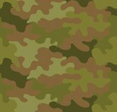 Camouflage seamless pattern background Royalty Free Stock Image